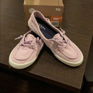 NWT Sperry Top-Sider Shoes, pink 8.5. New in Box